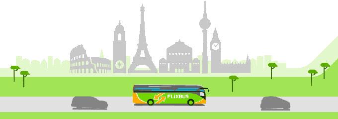 تخفیف اتوبوس گردشگری FlixBus در اروپا