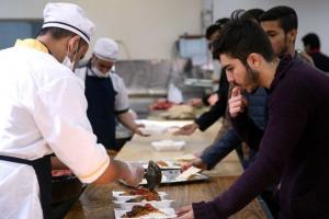 وعده ناهار در خوابگاههای دانشگاه شهیدبهشتی