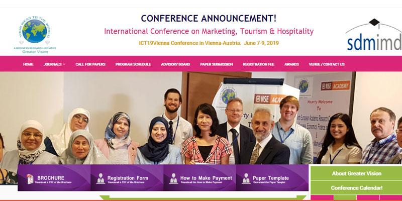 کنفرانس بین المللی در رابطه با بازاریابی و گردشگری