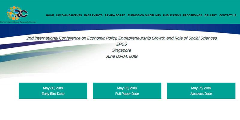 دومین کنفرانس بین المللی سیاست های اقتصادی