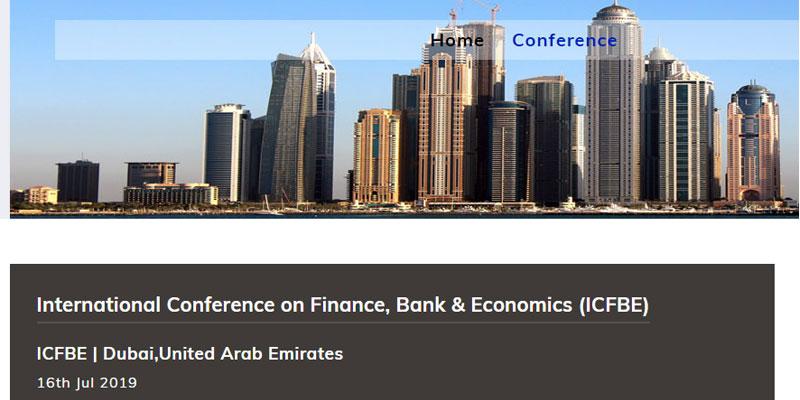 کنفرانس بین المللی امور مالی و بانک و اقتصاد در دبی