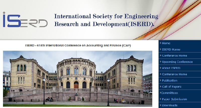 618 امین کنفرانس بین المللی حسابداری و مالی