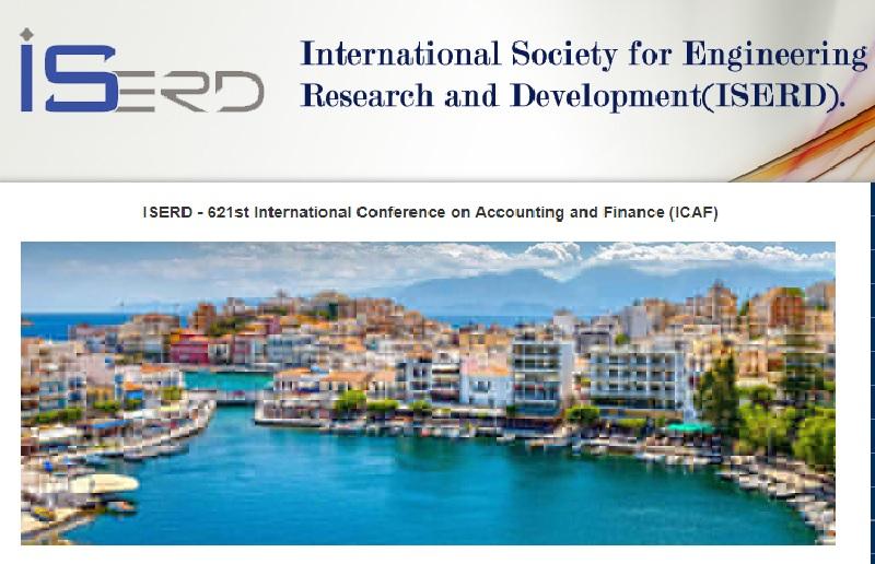 621 مین کنفرانس بین المللی حسابداری و مالی