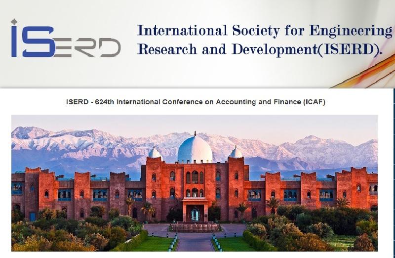 624مین کنفرانس بین المللی حسابداری در مراکش