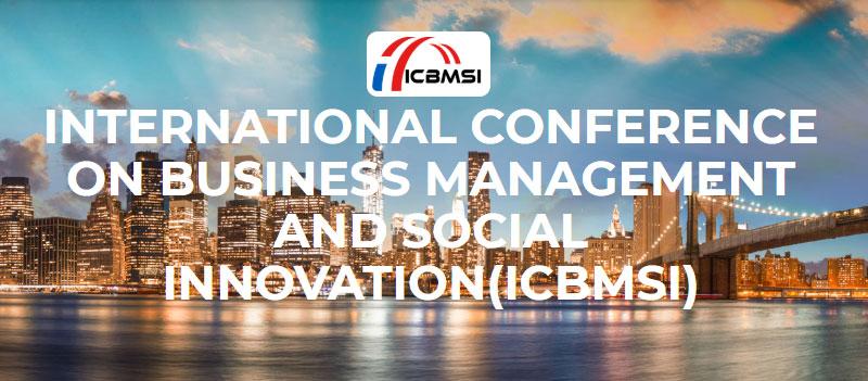 کنفرانس بین المللی مدیریت کسب و کار و نوآوری اجتماعی (ICBMSI)