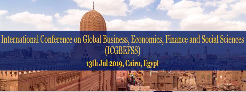 کنفرانس بین المللی تجارت جهانی، اقتصاد و علوم اجتماعی در مصر