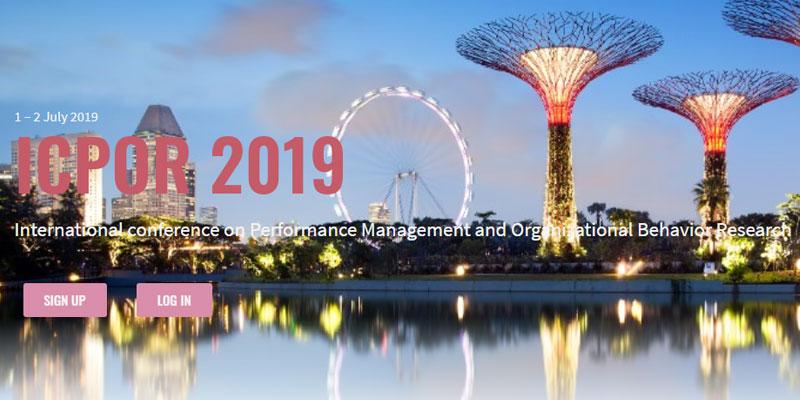 کنفرانس بین المللی مدیریت عملکرد و رفتار سازمانی