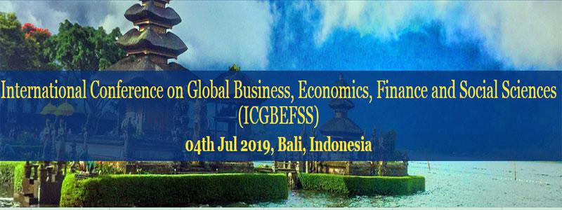 کنفرانس بین المللی تجارت جهانی، اقتصاد، مالی و علوم اجتماعی در بالی