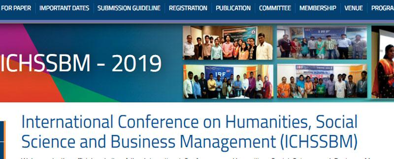 کنفرانس بین المللی علوم اجتماعی در دبی