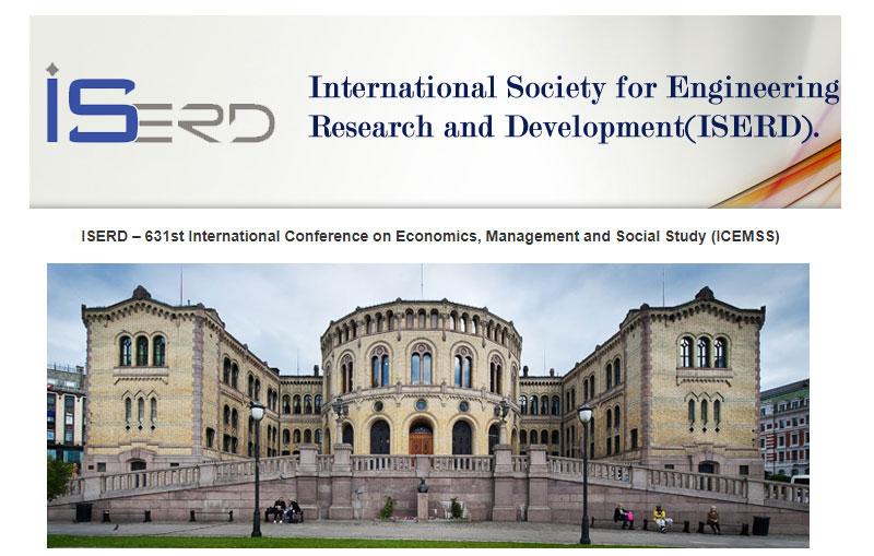کنفرانس بین المللی اقتصاد و مدیریت در اسلو