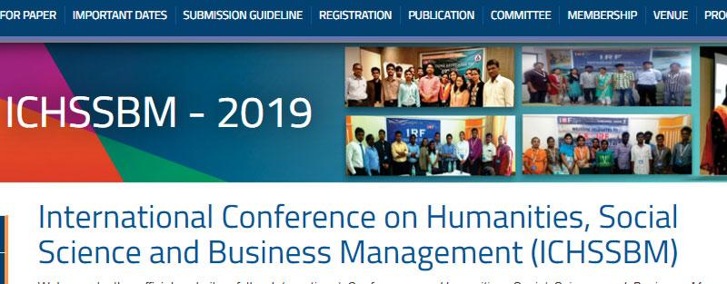 کنفرانس بین المللی علوم انسانی در پاتایا