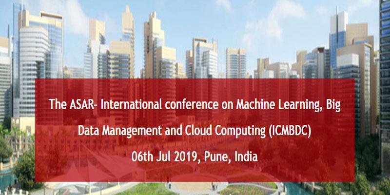 کنفرانس بین المللی در زمینه کنفرانس بین المللی در زمینه یادگیری ماشینی در هند
