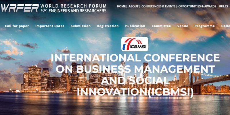 کنفرانس بین المللی مدیریت کسب و کار در تایلند