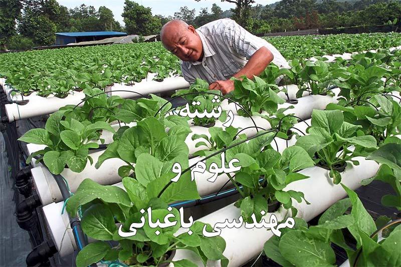 رشته علوم و مهندسی باغبانی