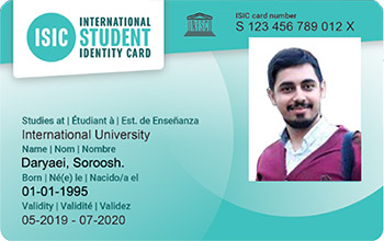 isic card 2020